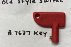 7637 Replacement Key