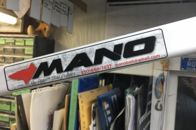 """Mano Hands-Free Hauler - 12"""" Main Pulley, Huge Hauling Power, Hands-Free Attachment"""